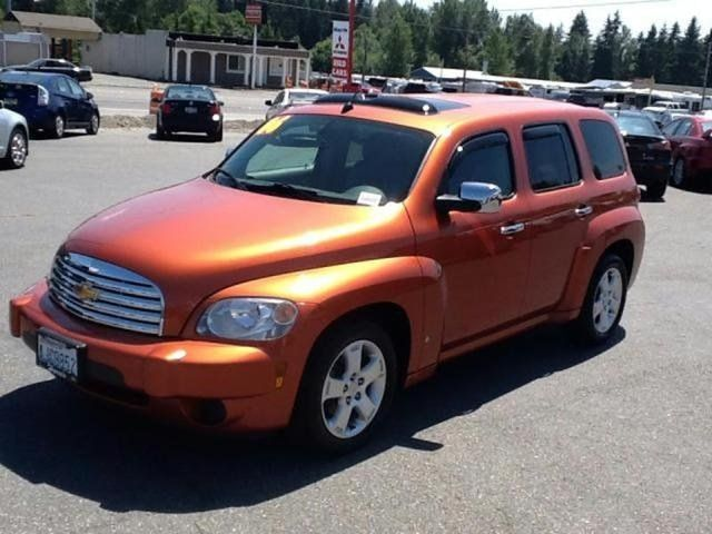 2006 Chevrolet Hhr Lt Sunburst Orange Everett Wa Vehicles Dream Cars Cars