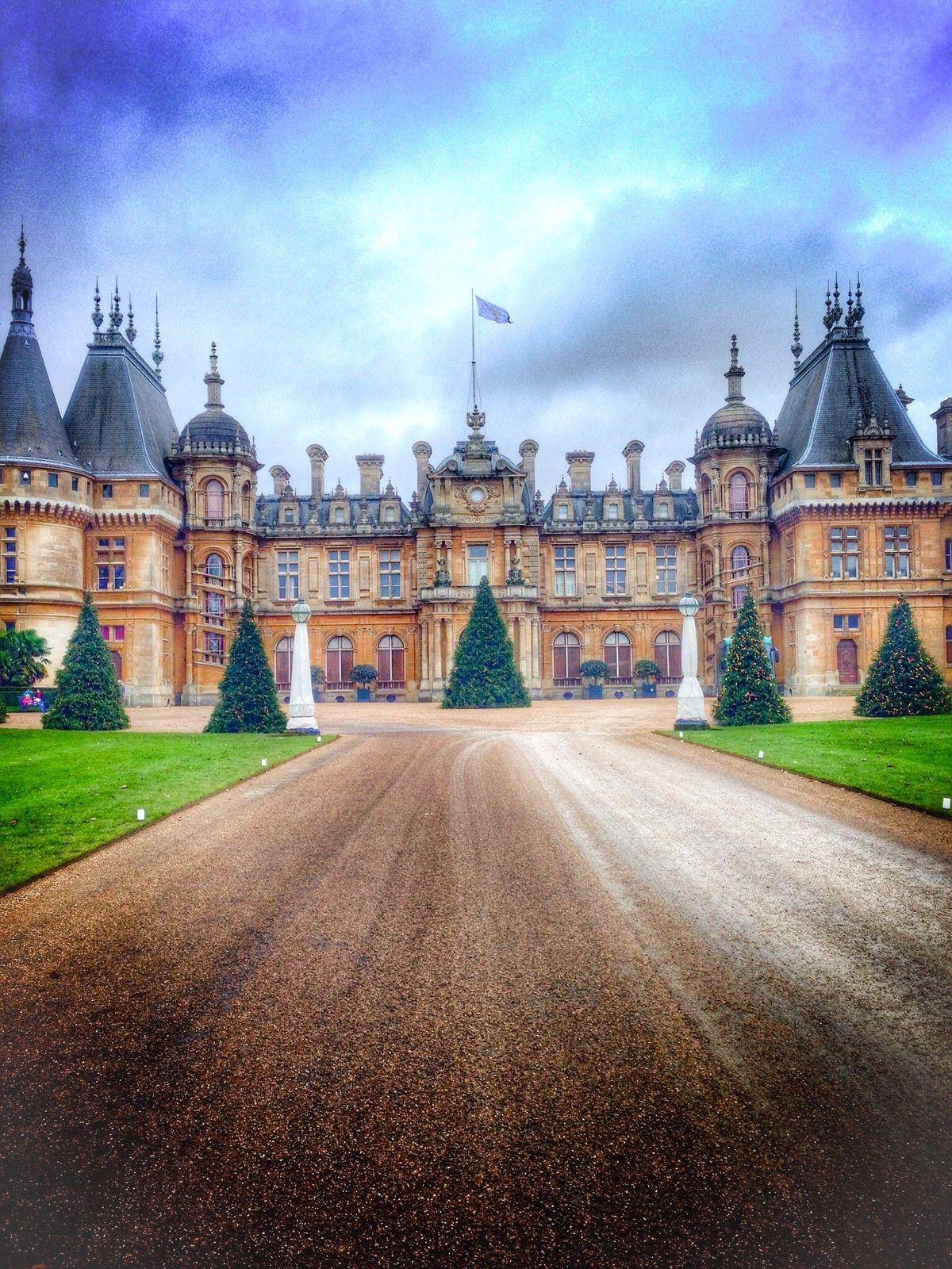 Waddesdon Manor, Aylesbury, England.