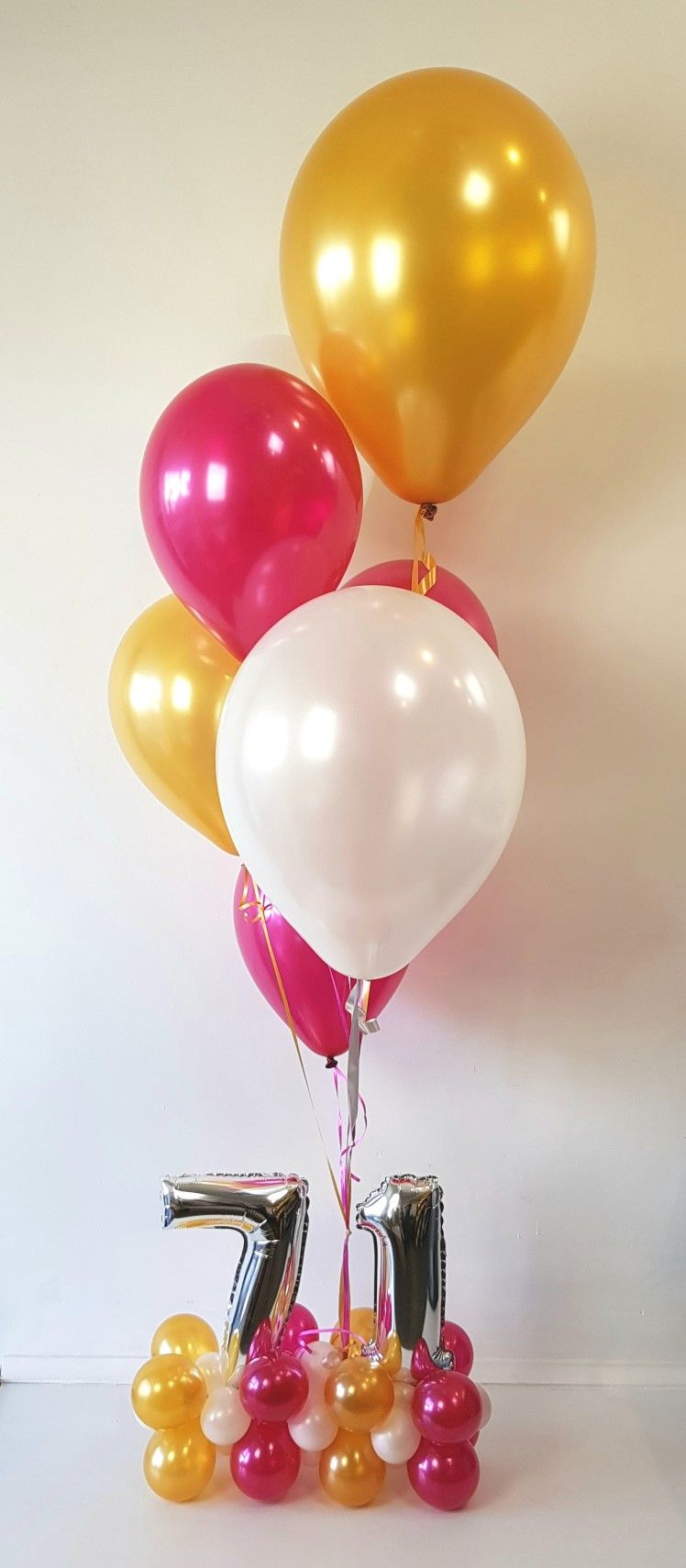Sweet 16 Bouquets Cute Themed Number Base Anchors This Helium Arrangement Balloonsau Balloon