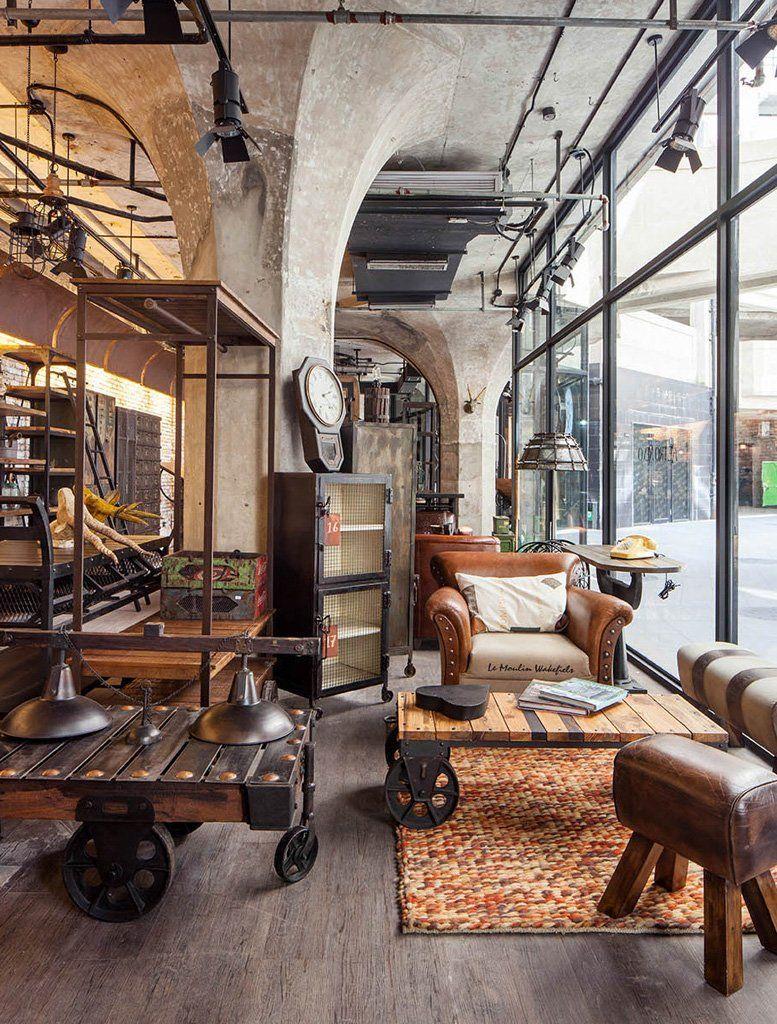 Pin di stefano gabriotti su industrial deco appartement for Appartamento design industriale