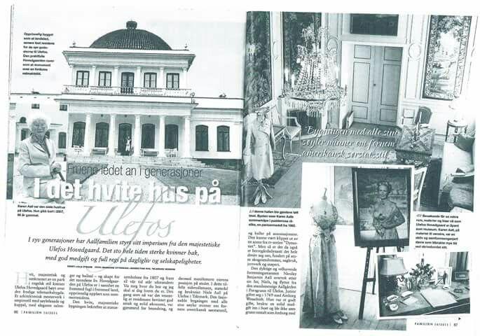 Ulefos hovedgård, Statsraad Niels Aalls veg 80, 3830 Ulefoss, Norway