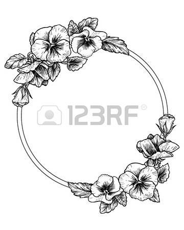 1 971 Pansy Flower Cliparts Stock Vector And Royalty Free Pansy