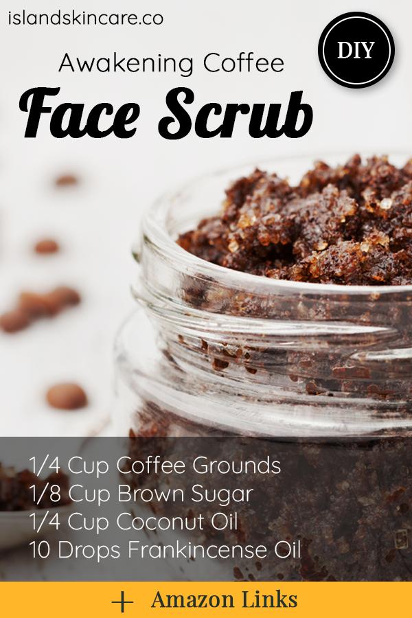 Diy Awakening Coffee Face Scrub Coffee Face Scrub Face Scrub