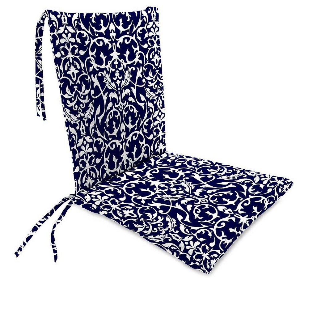 WeatherResistant Outdoor Rocker Chair Cushion With Ties