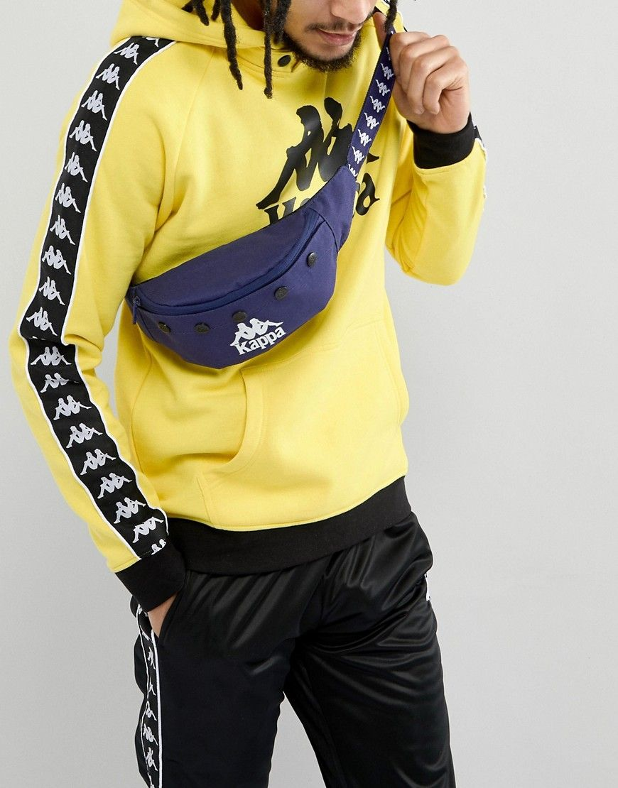 e2a1ca62 KAPPA BANDA FANNY PACK IN BLUE - BLUE. #kappa #bags #belt bags ...