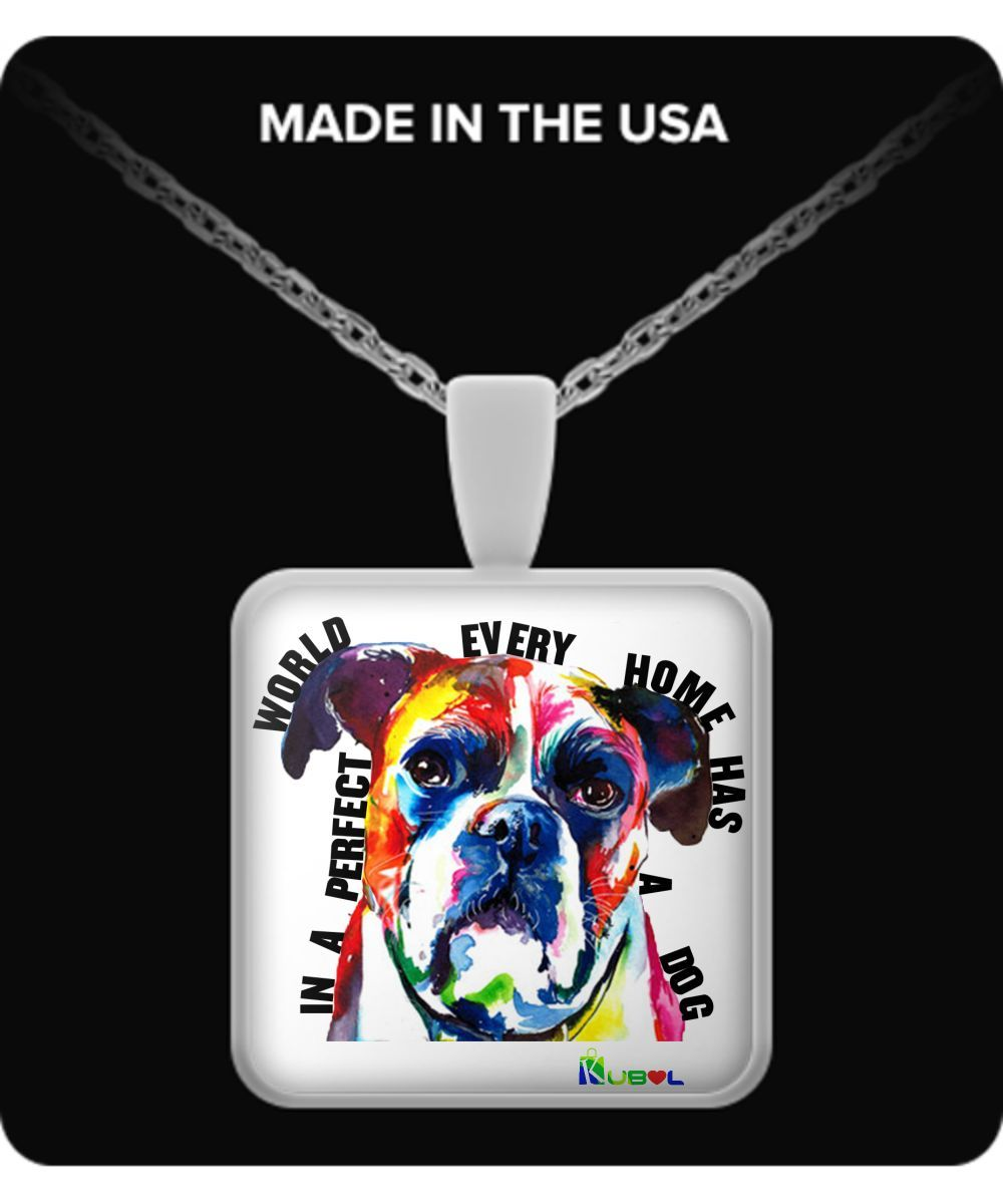 BOXER In Every Home - Necklace everyhomeboxer-necklace