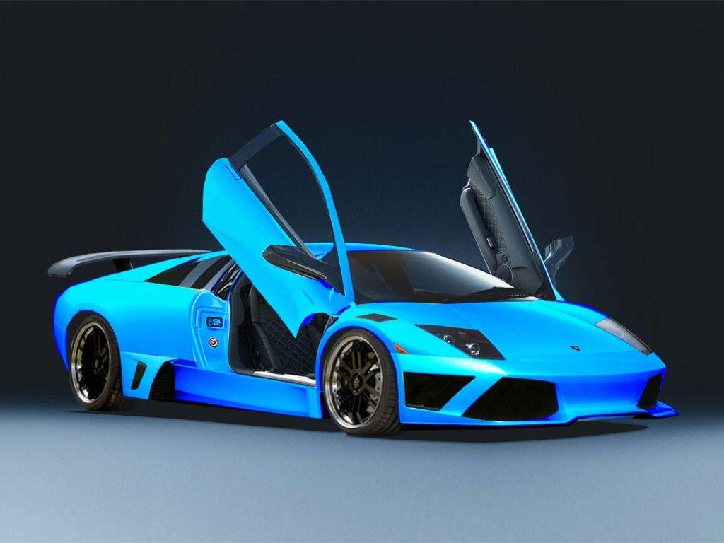 Blue Lamborghini Wallpaper High Definition