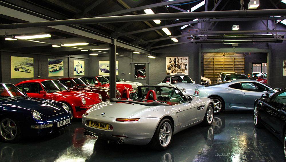 Hexagon Modern Classics Opens A New Showroom In London Modern Classic Classic Car Sales Classic