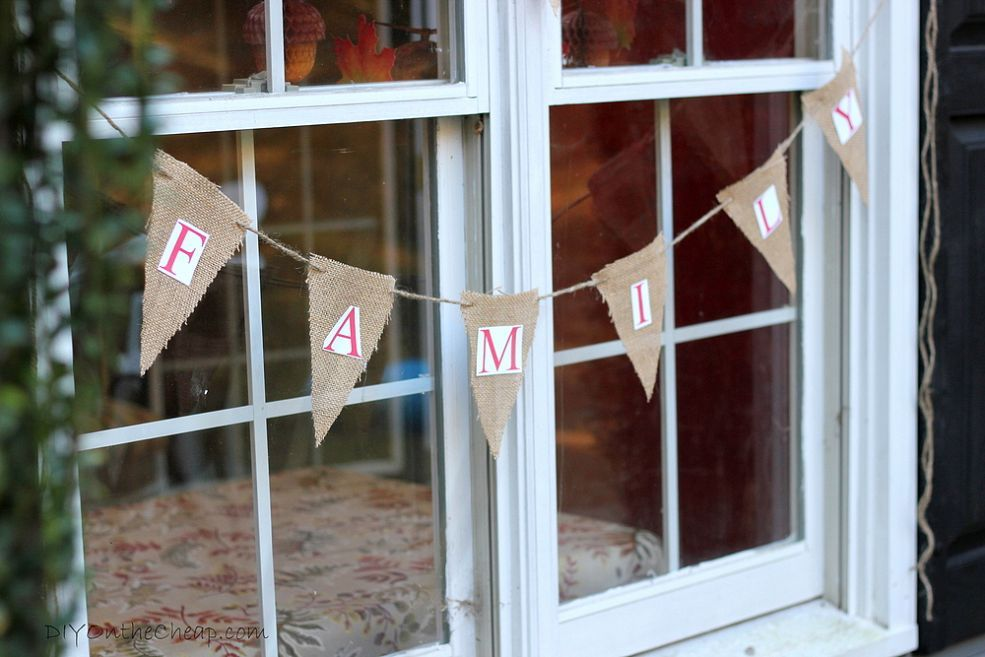 DIY Family Reunion Decor