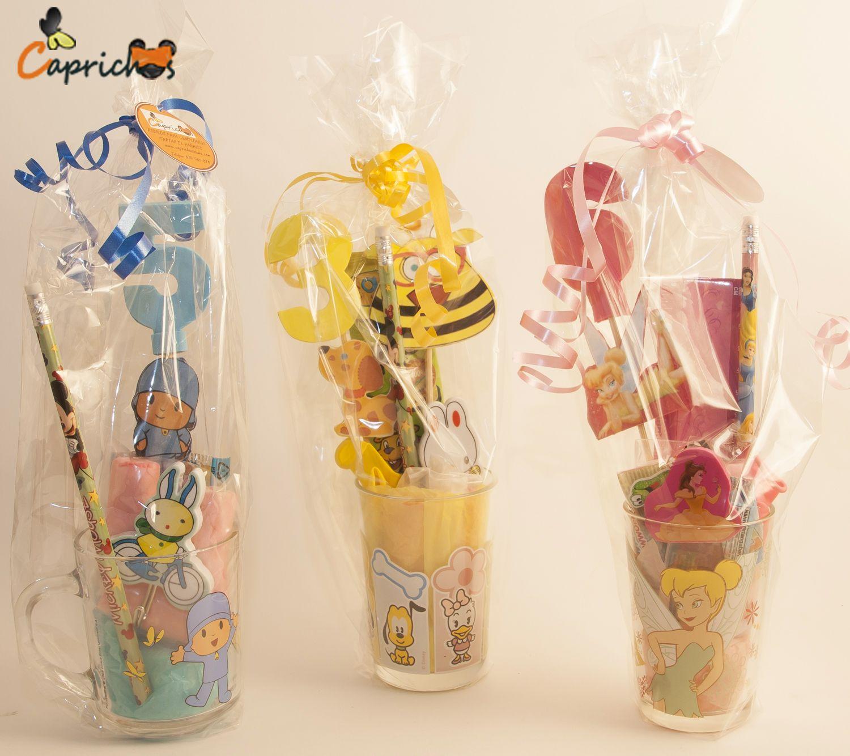 regalos infantiles para nios vasos decorados para cumpleaos comuniones y bodas