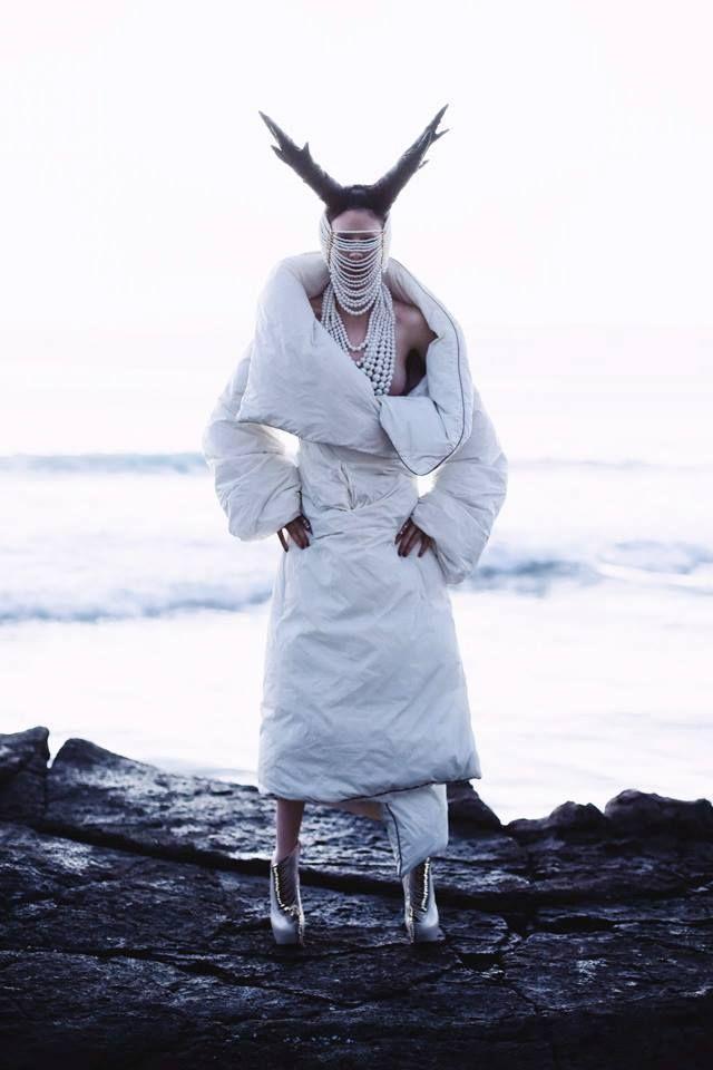 Photo: Aaron Valencia Styling & Creative Direction: Claudia Lomeli Make-Up: Dana Dorel  Hair: Jackye Andere Model: Coco!