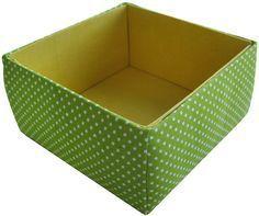 Kisten mit Stoff beziehen