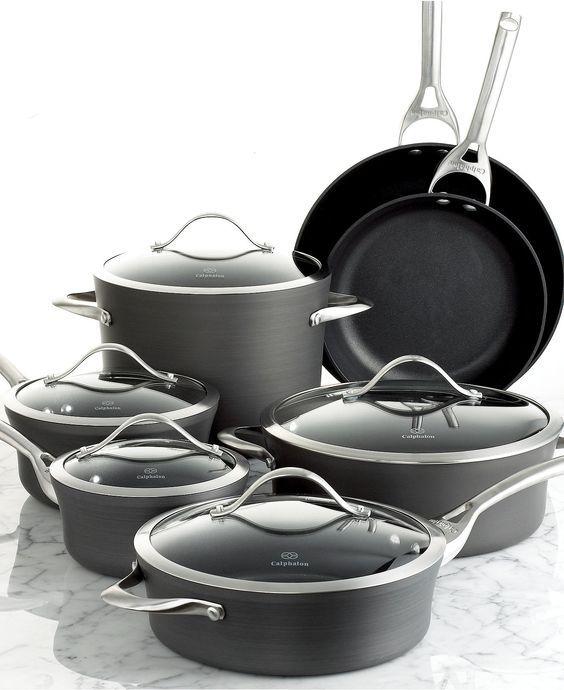 Kitchen Essentials From Calphalon: Contemporary Nonstick Calphalon Cookware… Best Pots And