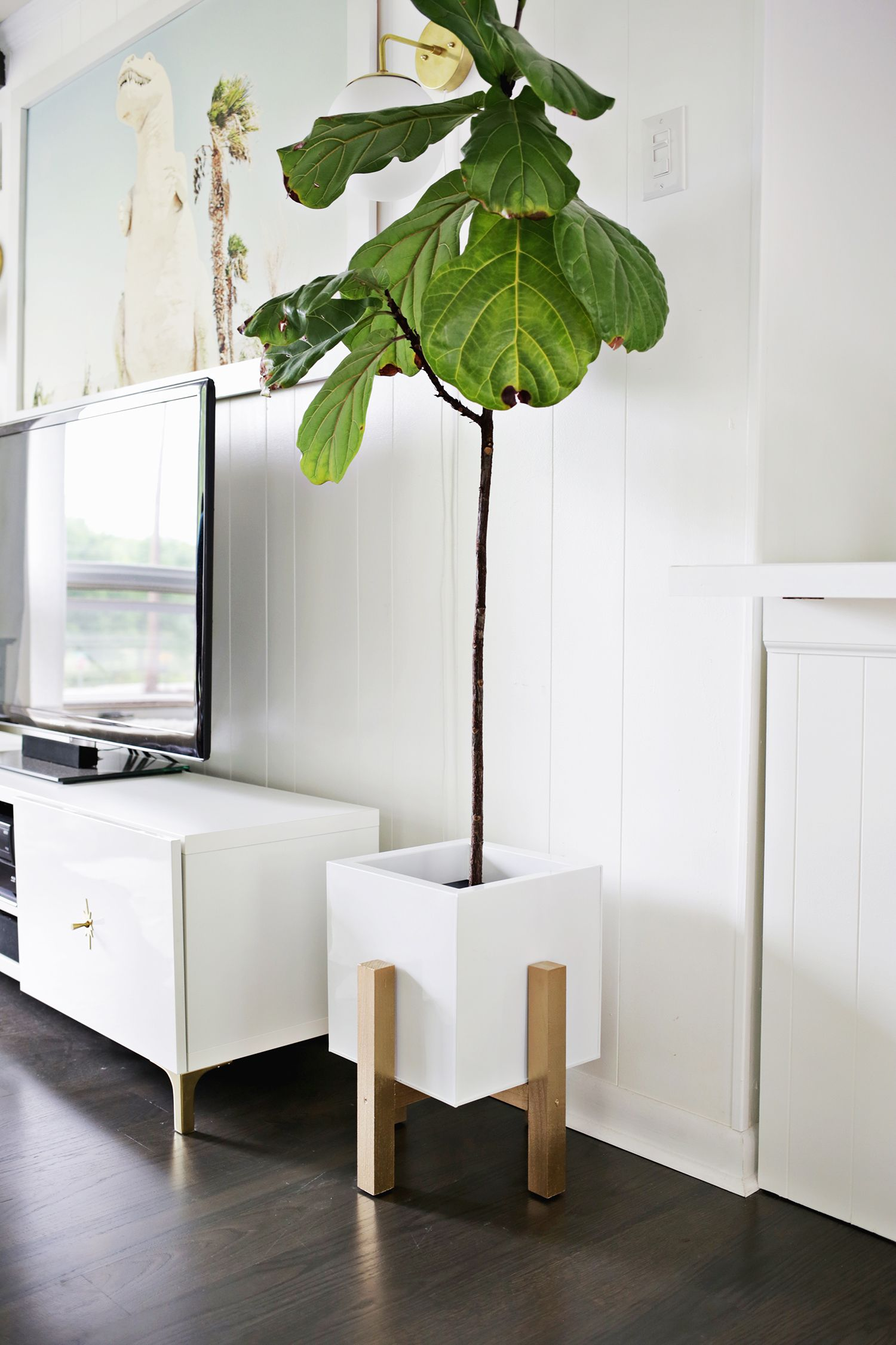 Need a weekend project? Make this #DIY wooden Mid-Century Modern ...