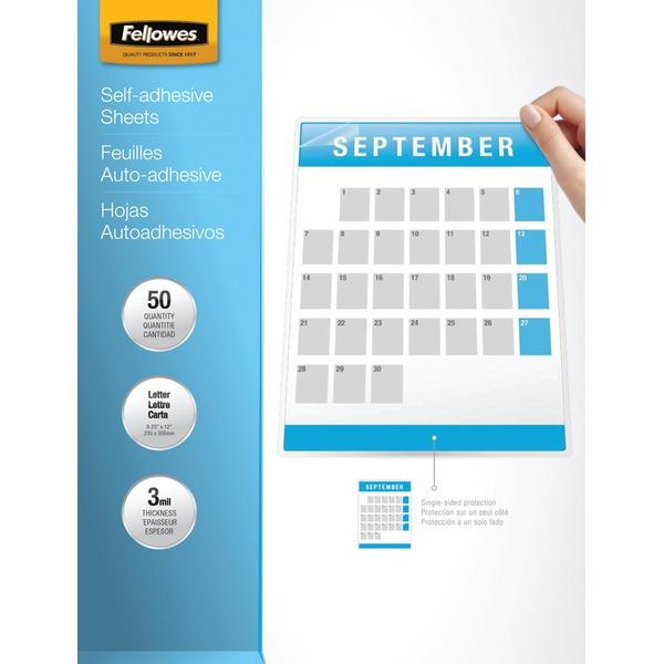 Fellowes R 9 X 12 Self Adhesive Laminating Sheets 50 Pk Importantdocuments In 2020 Laminate Sheets Adhesive Lettering