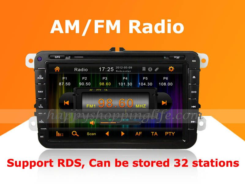 Volkswagen Caddy Android Auto Radio Dvd Player With Gps Navigation