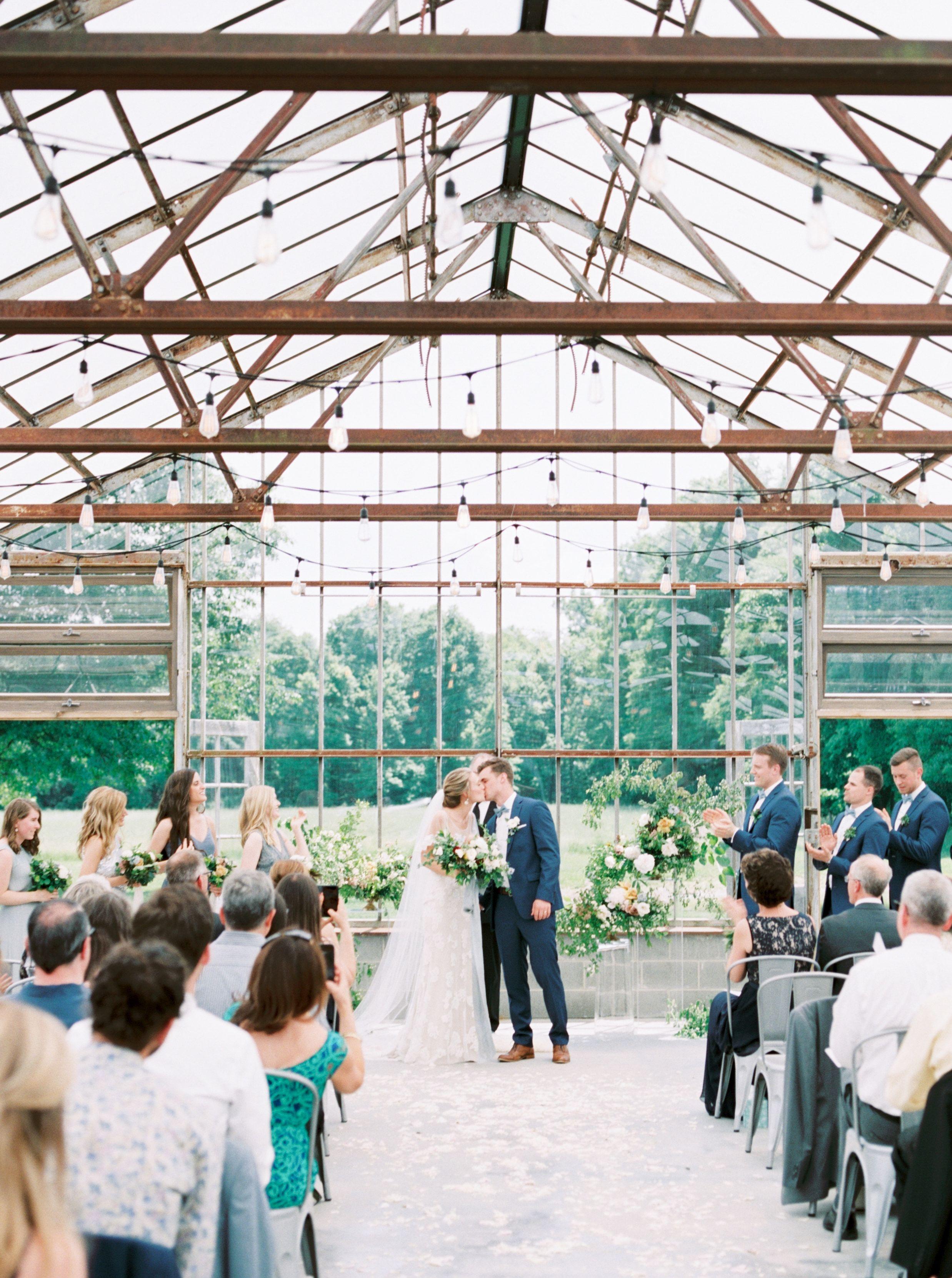 Bride And Groom Greenhouse Wedding Greenhouse Wedding Greenhouse Plans Greenhouse
