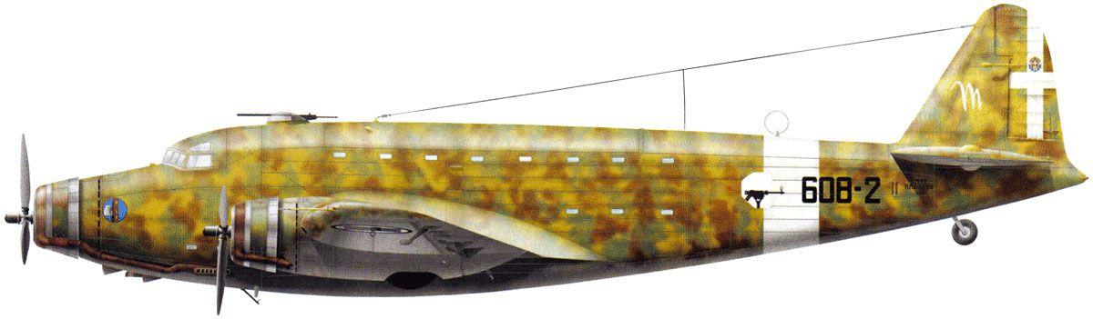 Savoia Marchetti SM.82 - Regia Areonautica