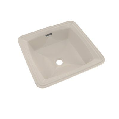 Toto Connelly Vitreous China Square Undermount Bathroom Sink With