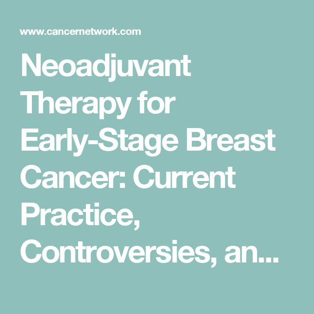 Cancer treatment breast Current
