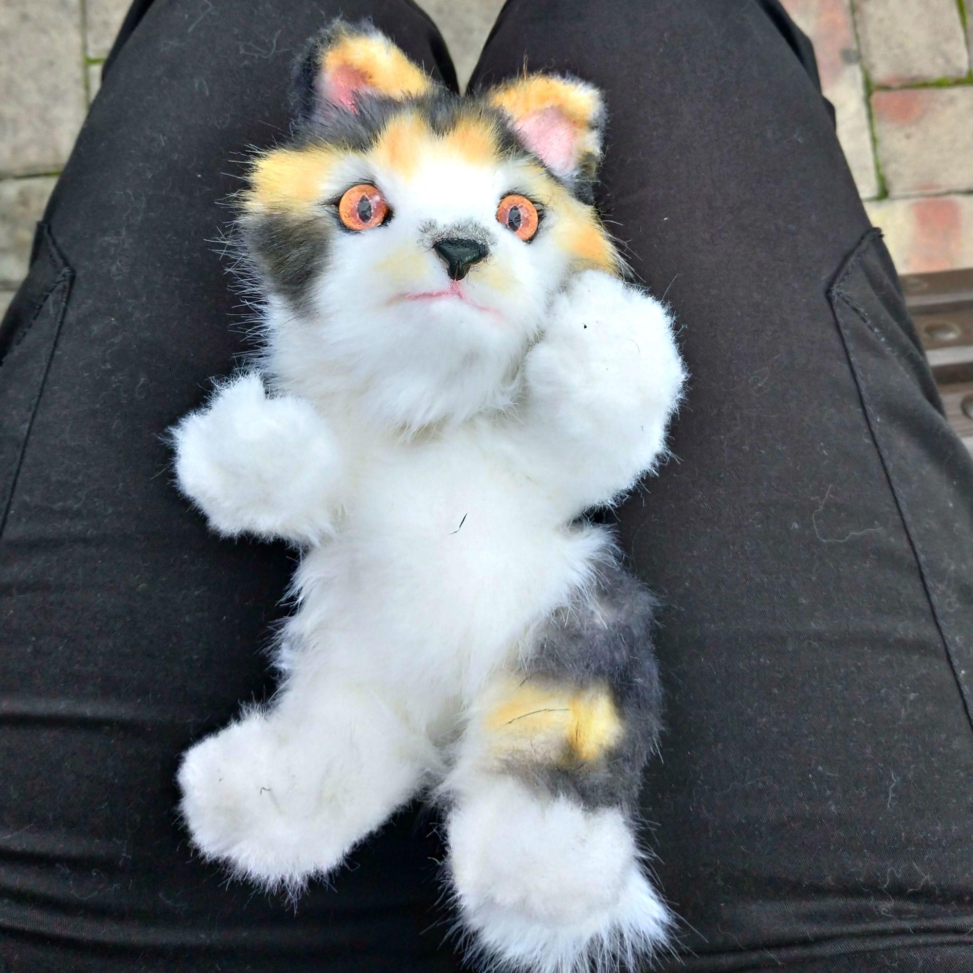 15++ Realistic cat stuffed animals images