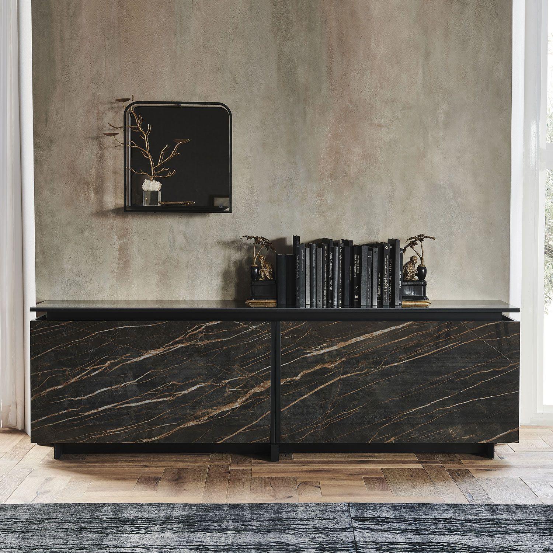 Italian Designer Europa Keramik Sideboard High End Italian