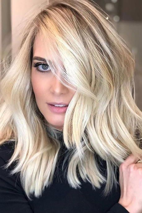 40 Blonde Balayage Looks: These Winter Hair Trends Are Coming In Hot For 2019