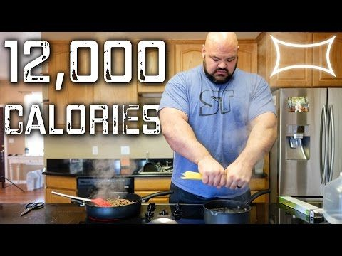 What The World S Strongest Man Eats In A Day World S Strongest Man Bodybuilding Diet Calorie