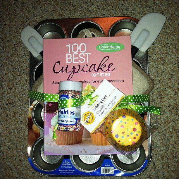 Diy Wedding Gift Basket Ideas: Cupcake Gift Baskets, Homemade Gift