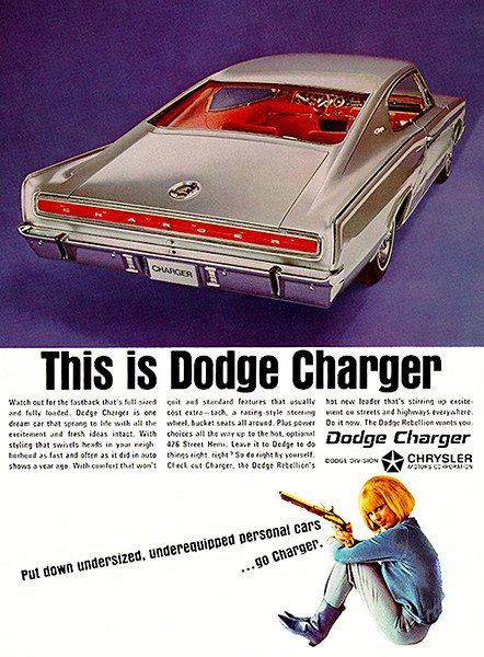 1966 dodge charger promotional advertising poster advertising 1966 dodge charger promotional advertising poster fandeluxe Image collections