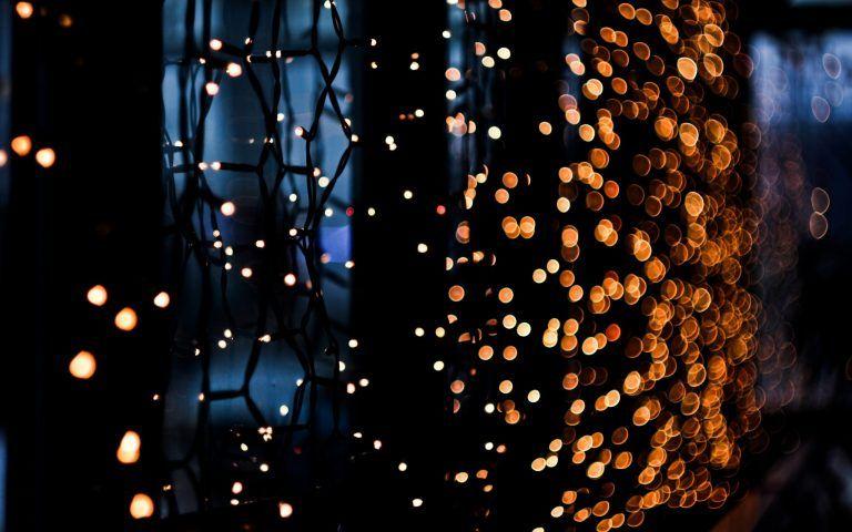 Christmas Lights Blur Wallpaper Hd Wallpapers Christmas