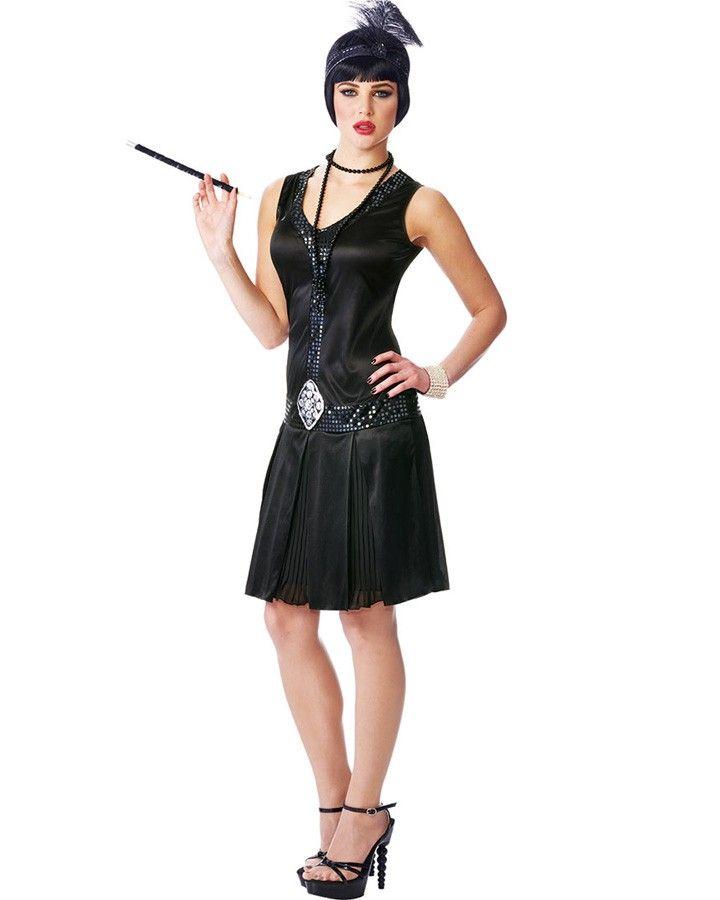 Long flapper dresses for sale cheap