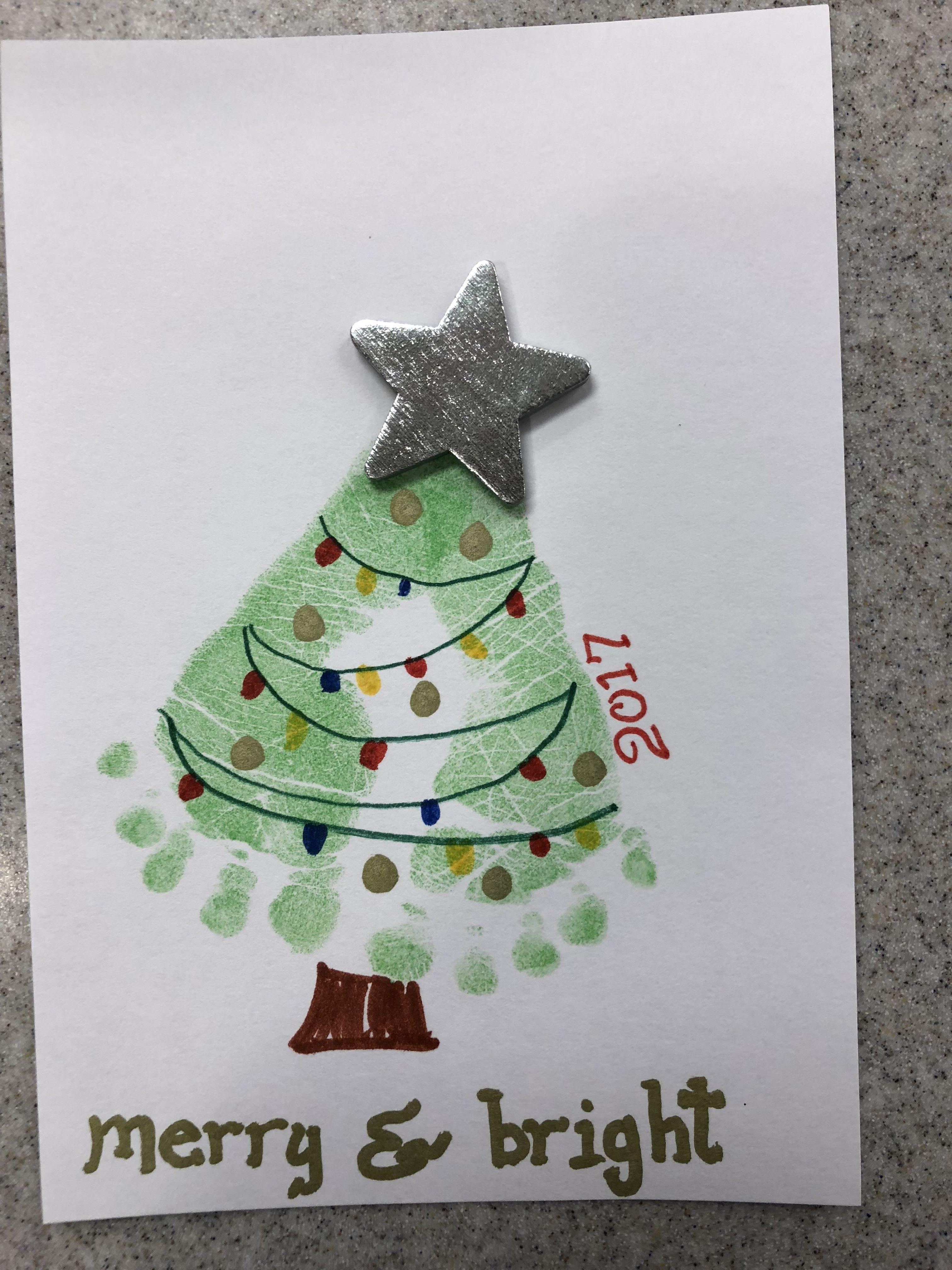 Christmas Tree Newborn Footprint Art Newborn Crafts Newborn Footprint Art Handprint Christmas