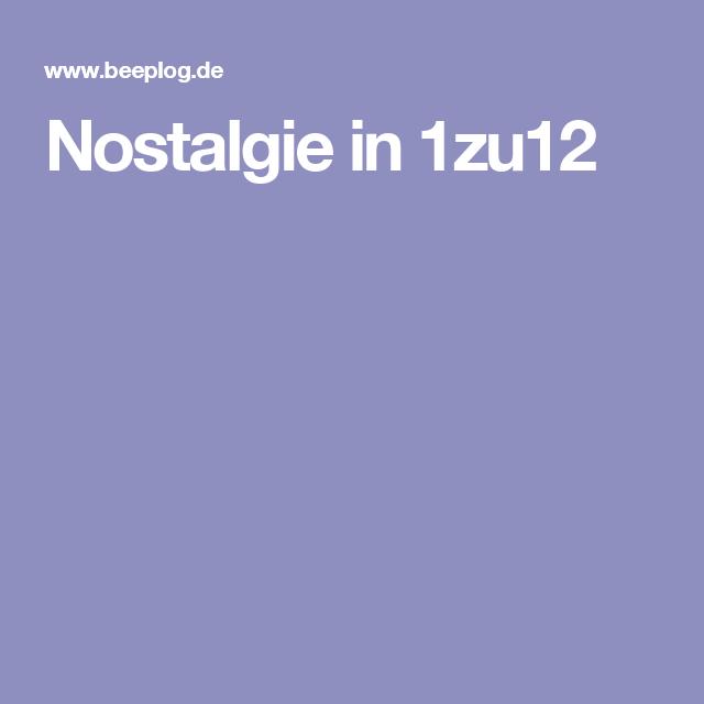 Nostalgie in 1zu12