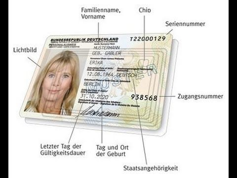 seriennummer personalausweis