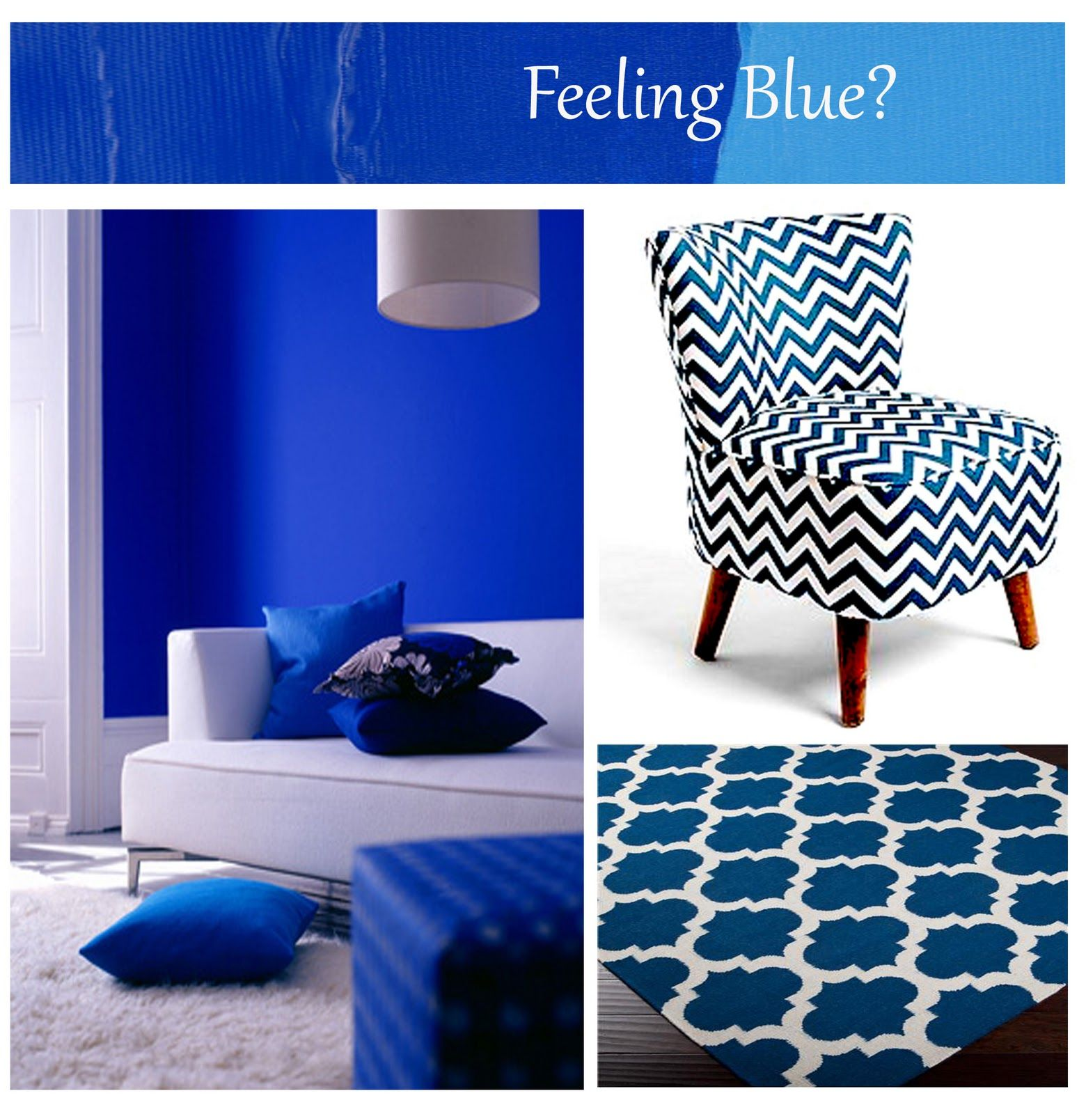 Cobalt Blue Accent Wall In Kitchen: Blue Accent Walls, Accent Wall Colors