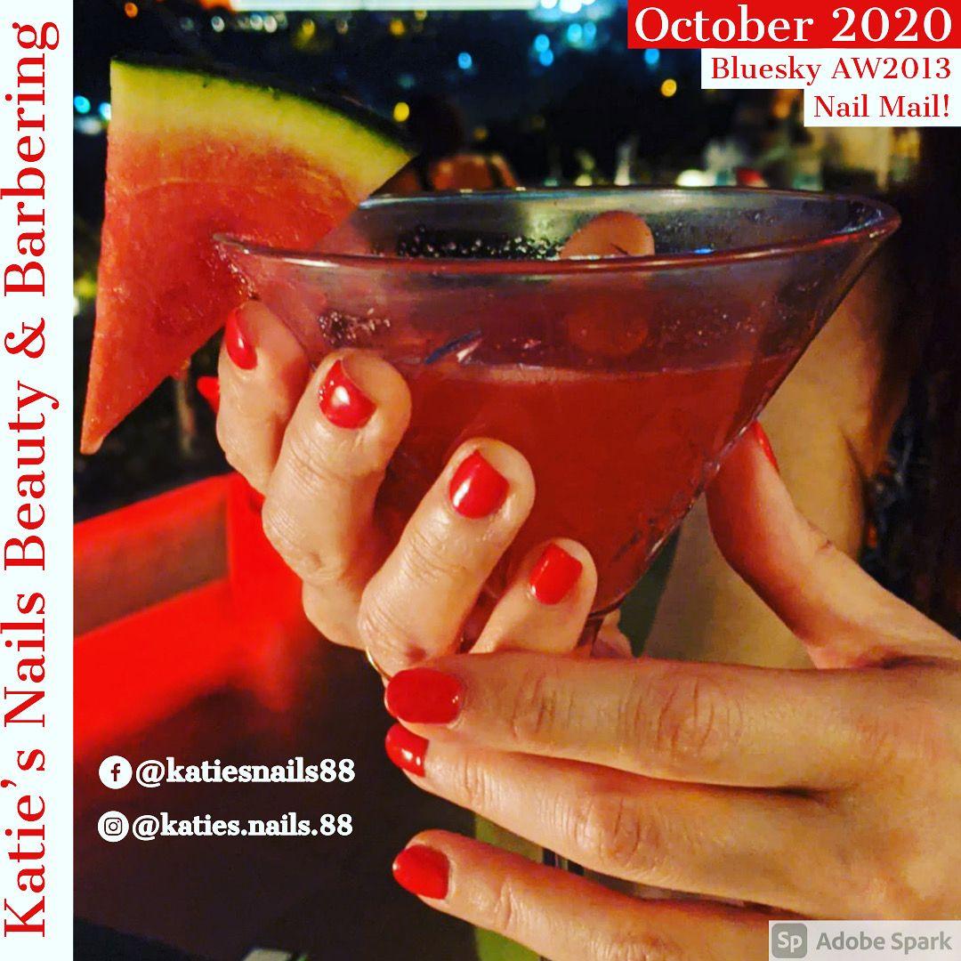 Bluesky's September NAIL MAIL AW2013! #gel #gelnails #gelnailtech #gelnailtechnician #lovenails #nailfans #bluesky #nailart #art #nailtutorial #blueskyambassador #nailpolish #nailtrends #showscratch #wimborne #mobilenailtech #freelancenailtech #creativenails #glitternails #blueskynails #red #letterboxred #customnails #inspired #nailmail