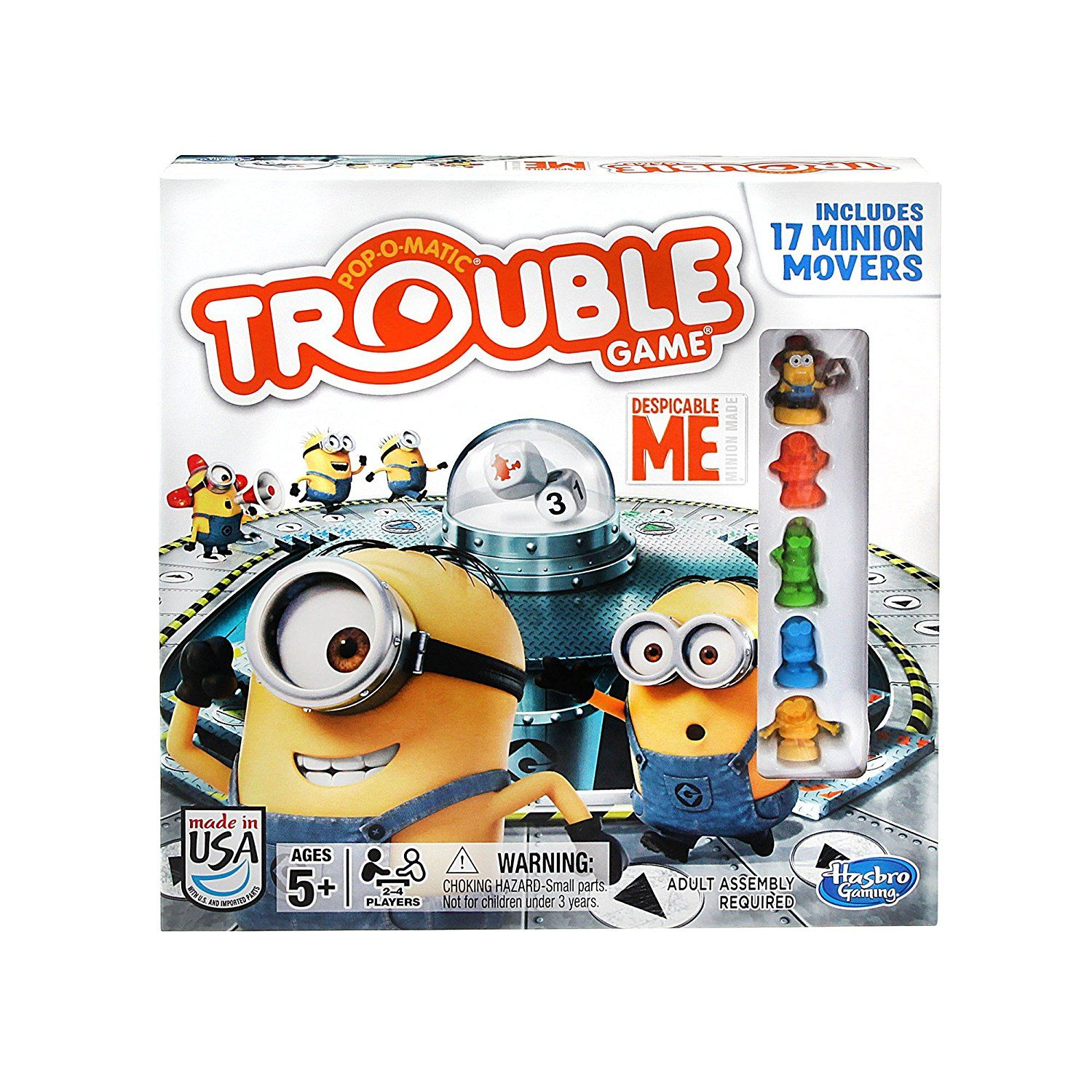AmazonSmile Gaming Trouble Despicable Me Board Game Toys