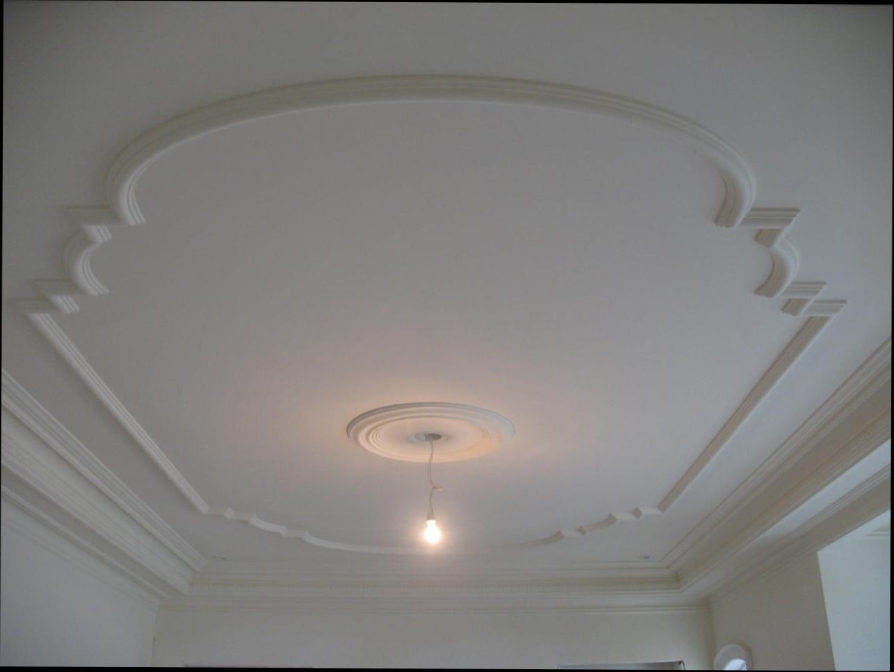 Pop Best House Design Without Ceiling Minus Plus Pop Designs On Roof Avec Pop Best House Design With Plaster