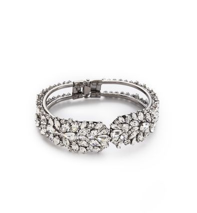 REVEL: Rhinestone Hinge Bracelet