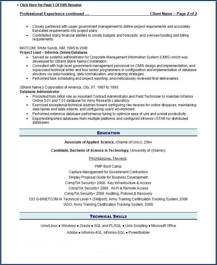 3 Page Resume Format For Freshers (With images) Resume