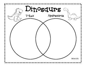 Dinosaur venn diagram primary reading language arts dinosaur venn diagram ccuart Choice Image