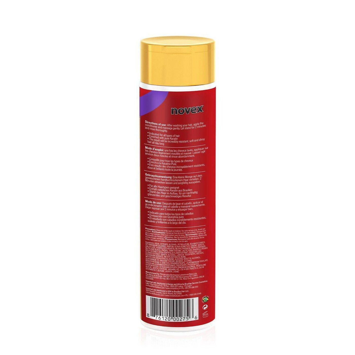 Novex Brazilian Keratin Conditioner 10.1 fl oz
