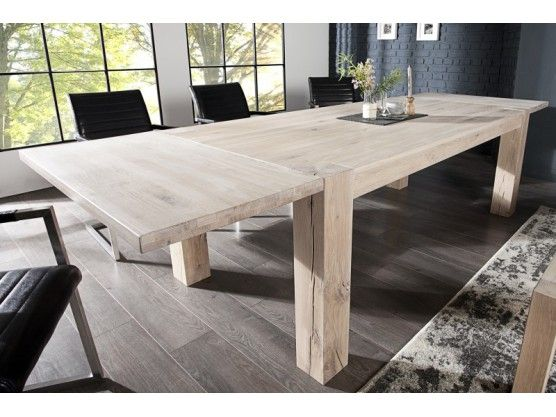 Pingl par royaledeco sur table repas extensible en 2019 table repas table manger et table for Table 300 cm