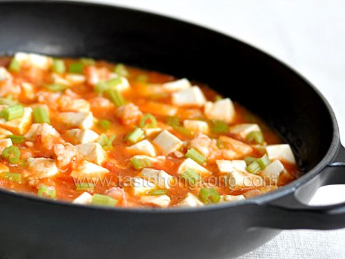 Tomatoes Stew with ToFu