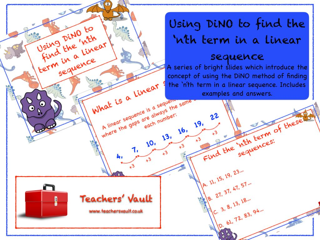 Using Dino To Find The N Th Term In A Linear Sequence
