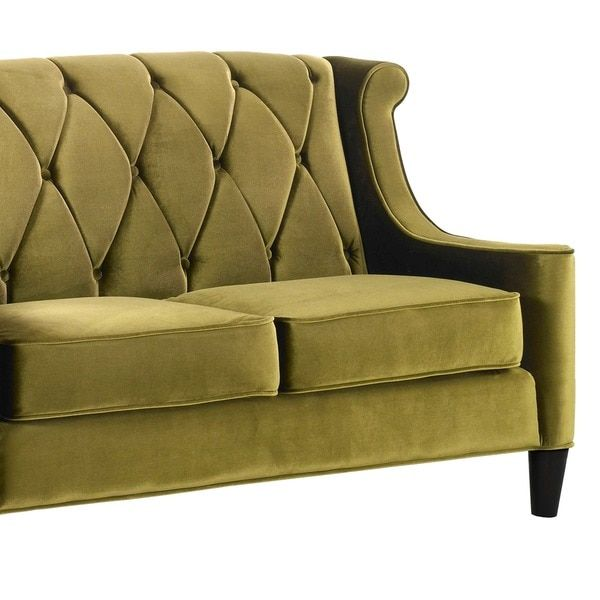 The Clean, Contemporary Styling Of This Green Velvet Love Seat Will  Complement Any Home. Home Design Ideas
