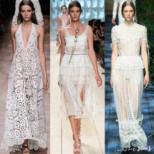 One of our favorite looks for #spring --> #whinterwhite #white #fashion #fashiontrends #runway #style #springfashion #dress #louisvuitton #bridal #brides