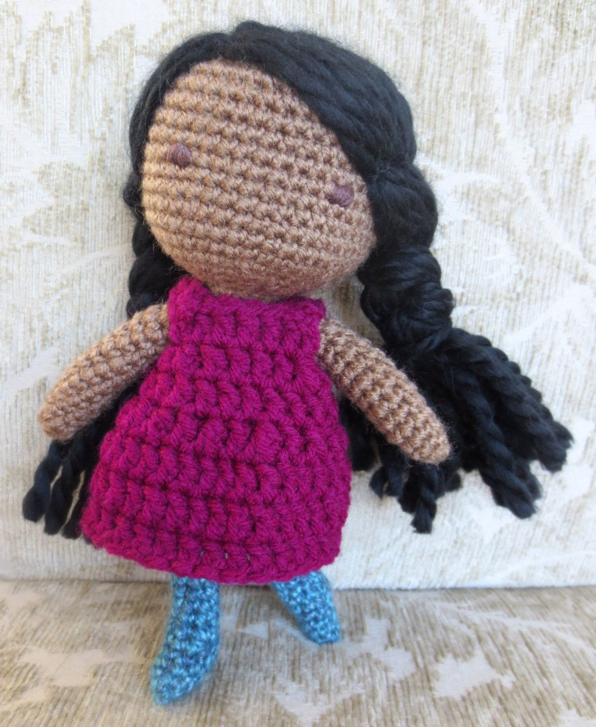 Adorable Crochet Doll For Sale On Etsy Handmade Mountainmamajody