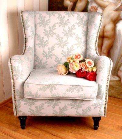 Stilvoller Ohrensessel Hbc001 Cottage Shabby Chic Pinterest